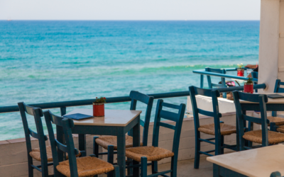 Breakfast on the waterfront | A morning coffee by the sea in Imperia